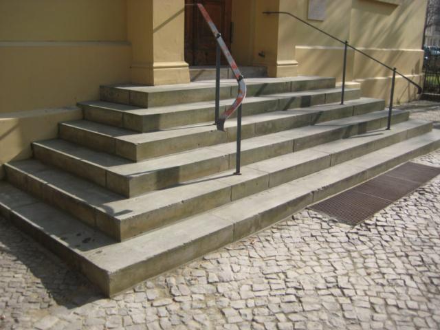 Denkmalpflege Treppenabsatz