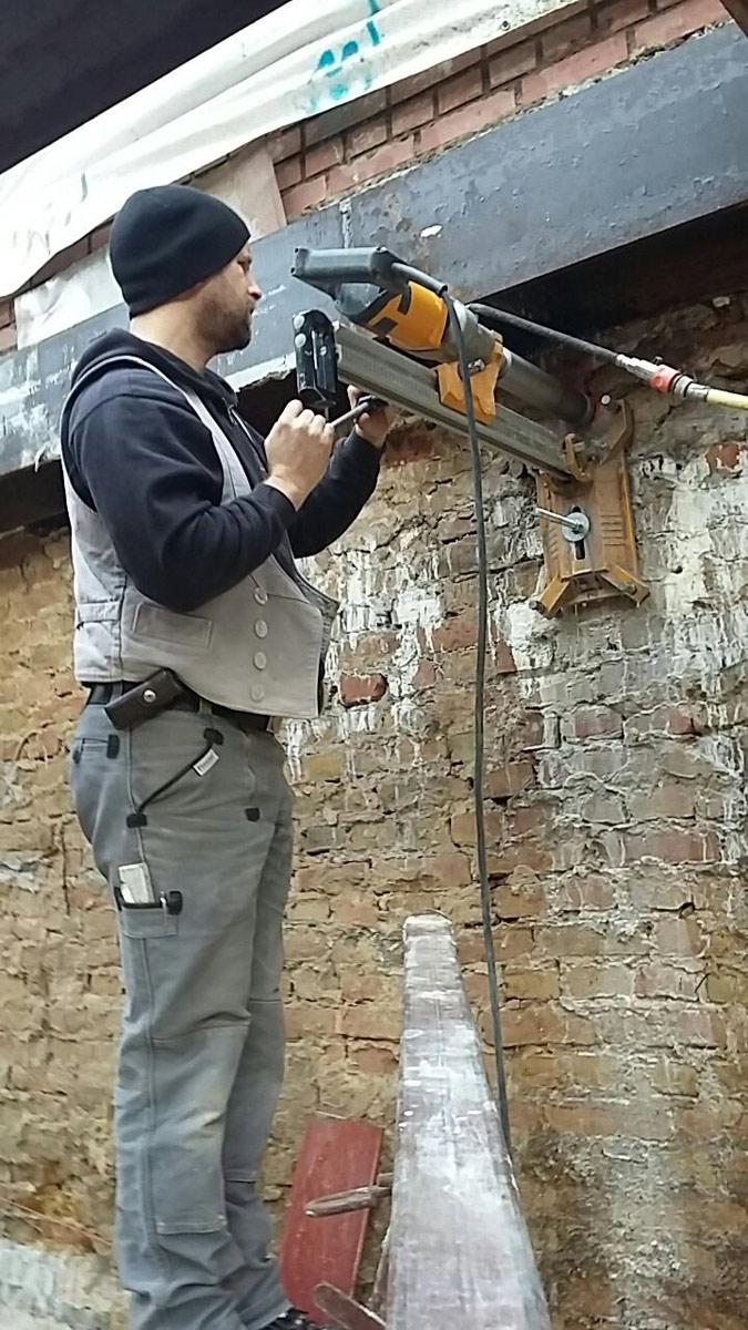 Sicherung einer Kappendecke